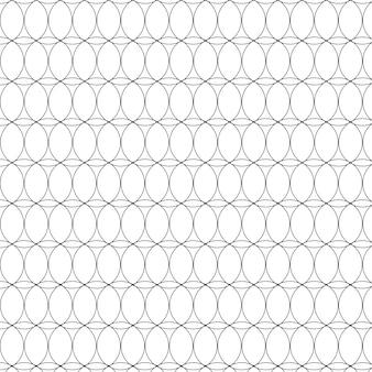 Geometric pattern with circles