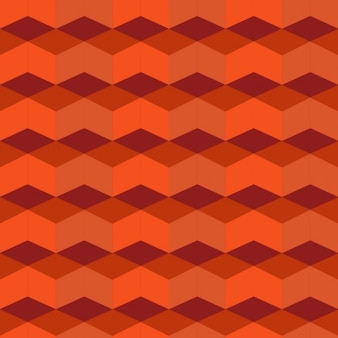 Geometric pattern with rhombus