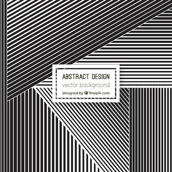 Geometric striped background