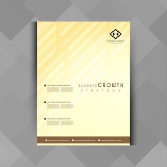 Geometric template business brochure