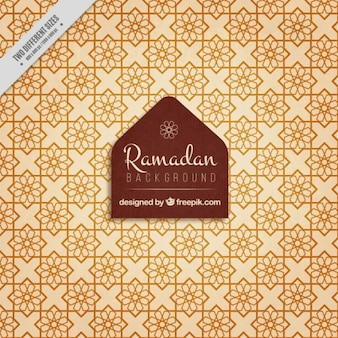 Geometric tiles ramadan background