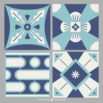 Geometric tiles set