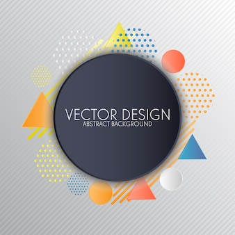 Geometrical background design
