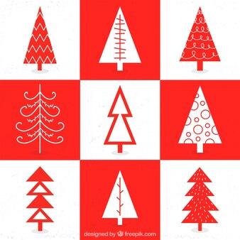 Geometrical Christmas Tree Collection