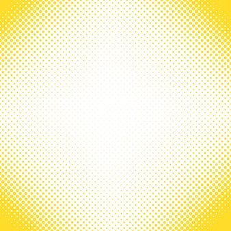 Geometrical halftone dot pattern background - vector design from circles in varying sizes