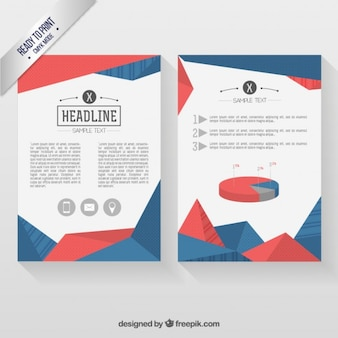 Geometrical Infographic  Flyer