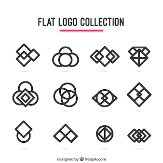 Geometrical logo collection