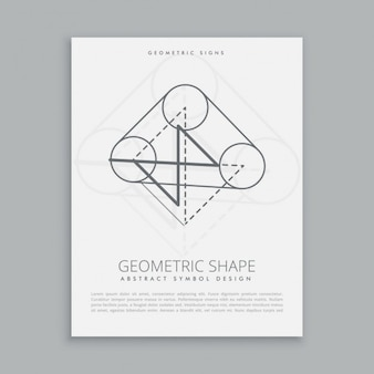 Geometrical shape symbol