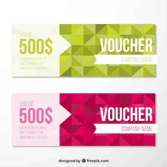 Geometrical Voucher Pack