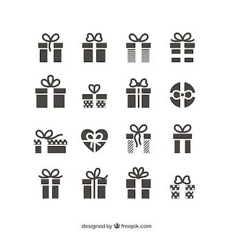 Gift icons