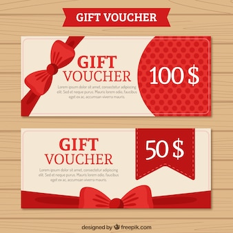 Gift Voucher Pack