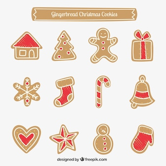 Gingerbread Christmas Cookies Collection