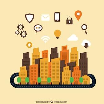 Global communication and navigation concept