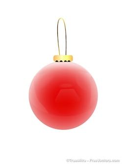Glossy christmas globe