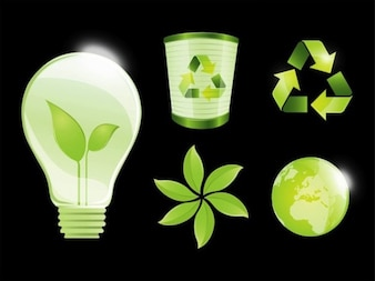 Glossy green ecology and environment