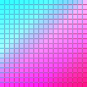 Glossy squares background