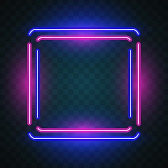 Glow square background