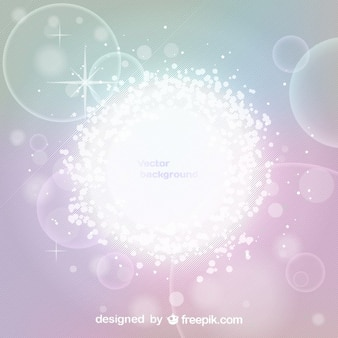 Glowing Effect Abstract Vector Background