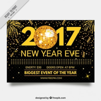 Golden 2017 calendar