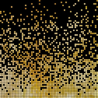 Golden abstract background