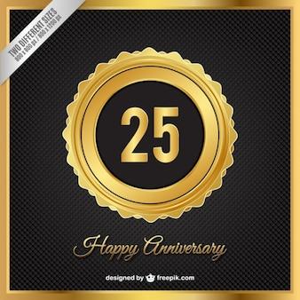 Golden anniversary badge