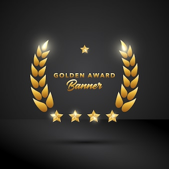 Golden Award Banner