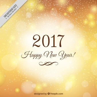 Golden background for new year