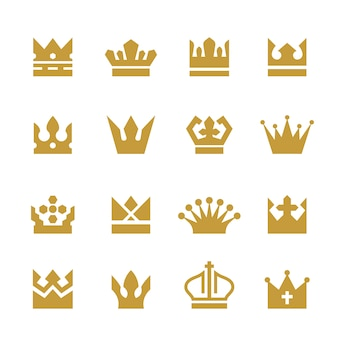 Golden crowns collection