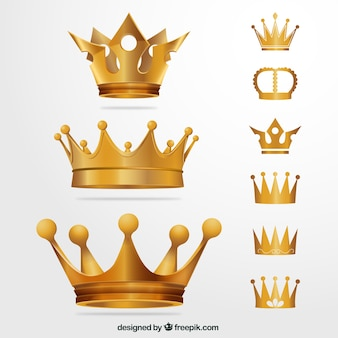 Golden crowns