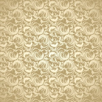 Golden decorative background