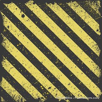 Golden grunge striped background