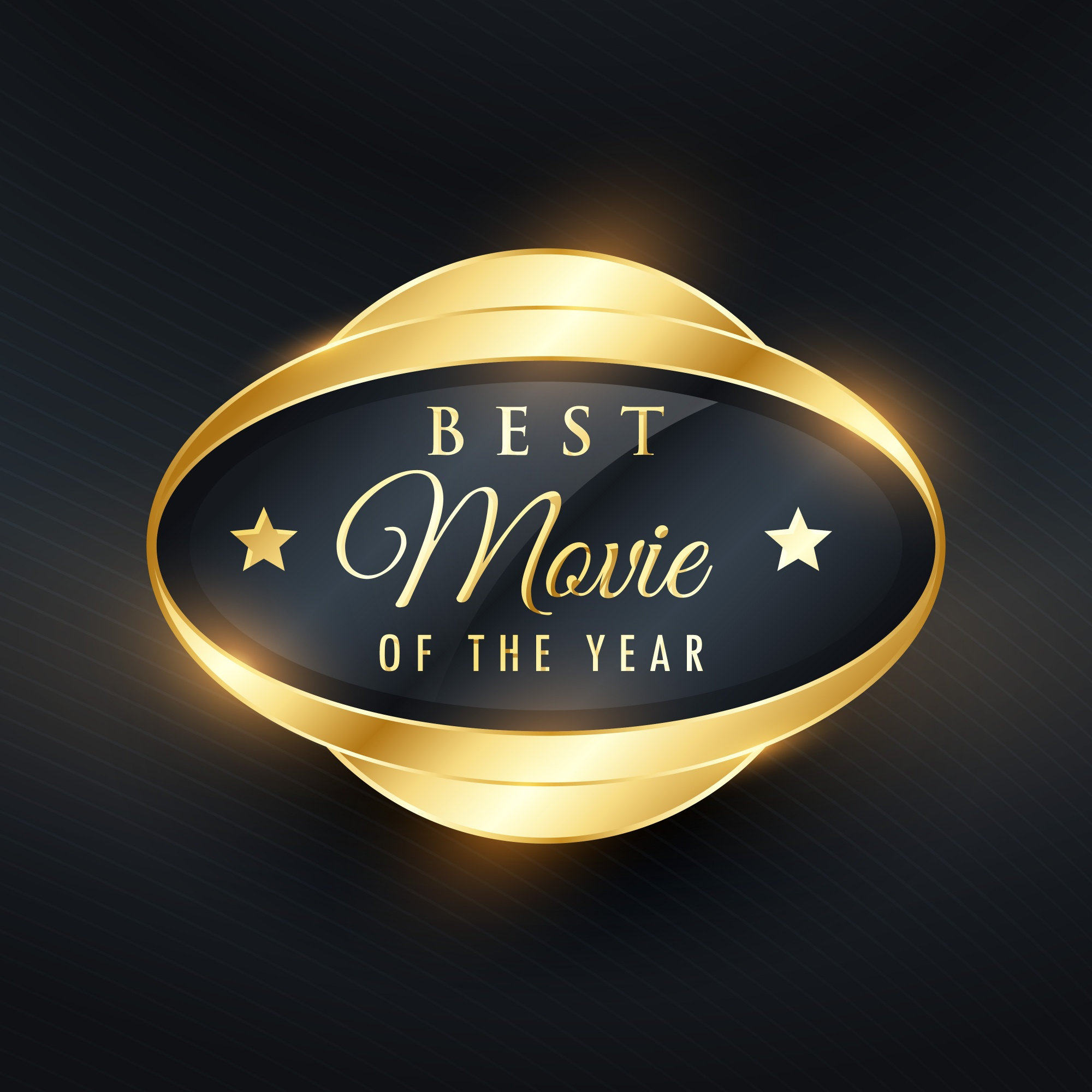 Golden label for movie of the year