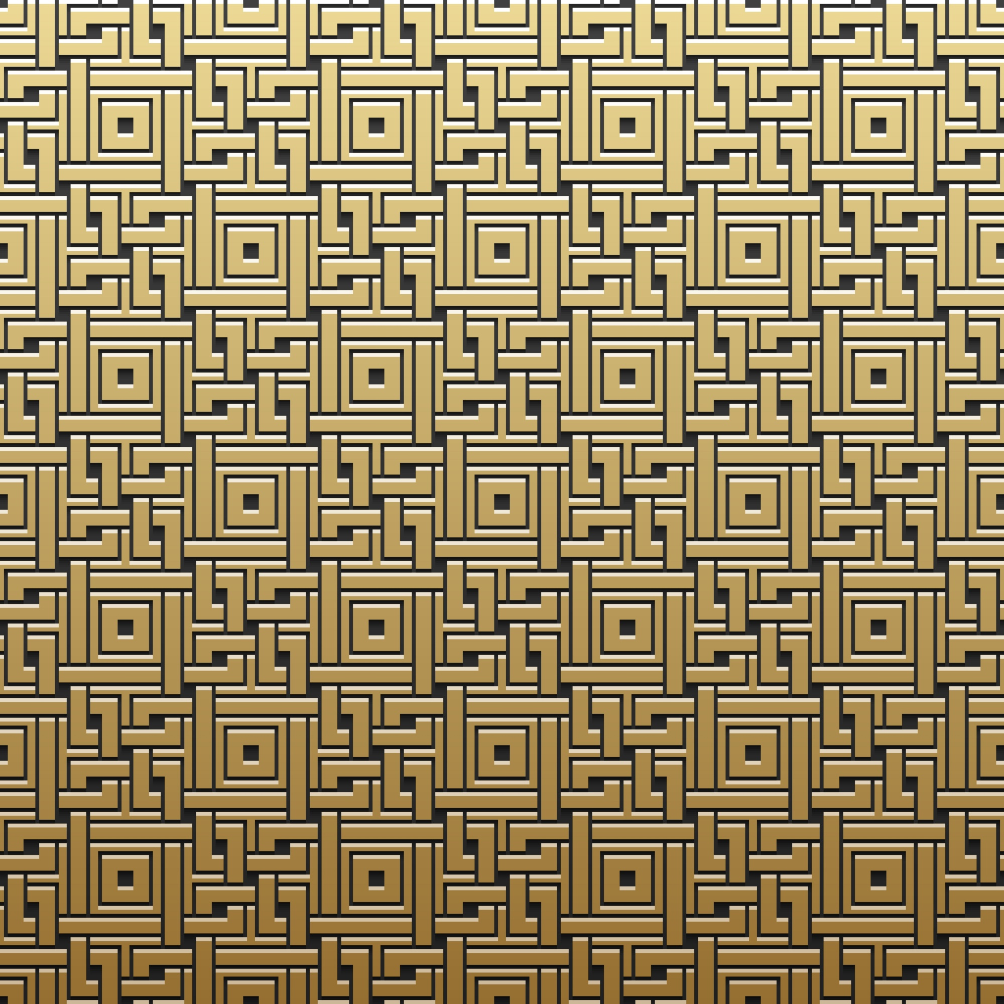 Golden metallic background with geometric pattern. Elegant luxury style.