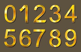 Golden numbers design