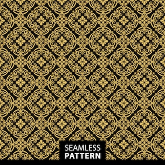 Golden pattern background