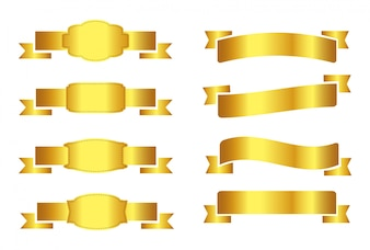 Golden ribbon collection