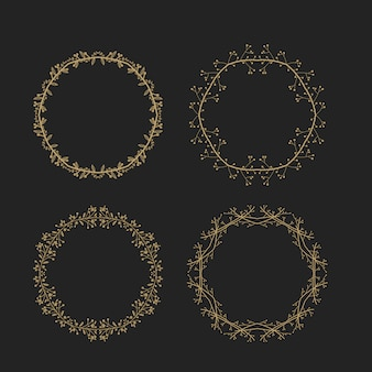 Golden rings collection