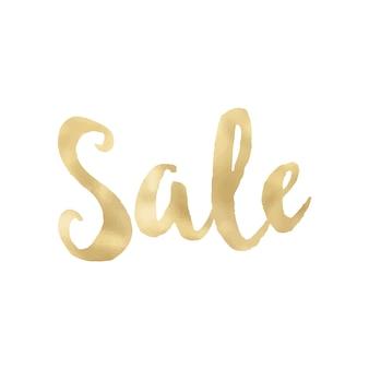Golden sale design