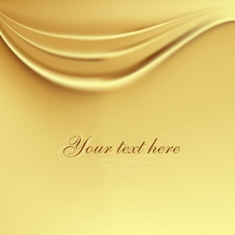 Golden silk background