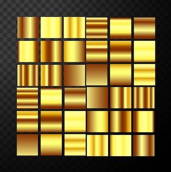現代の黄金gredientsブロック