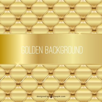 Golden upholstery background