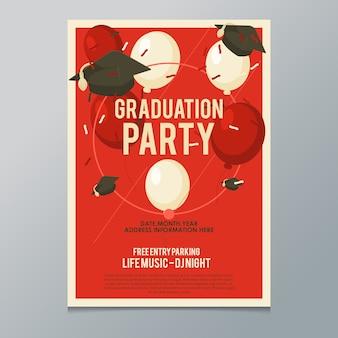 Graduation party poster