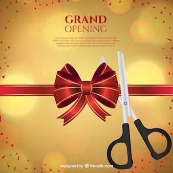 Grand opening with lovely style