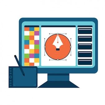 Graphic design tools design