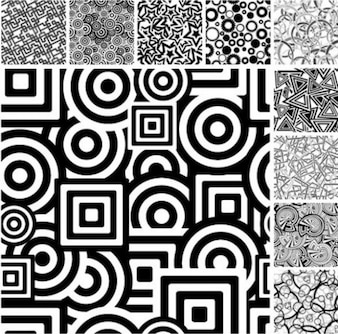 graphical black & white abstract vetor background