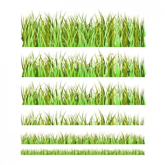 Grass borders pack