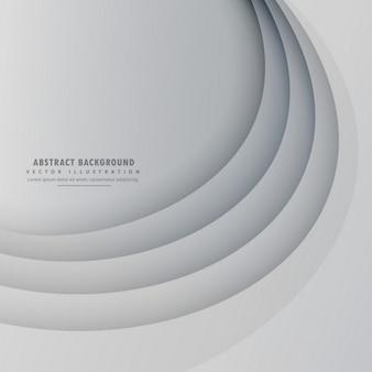 Gray background with circular lines