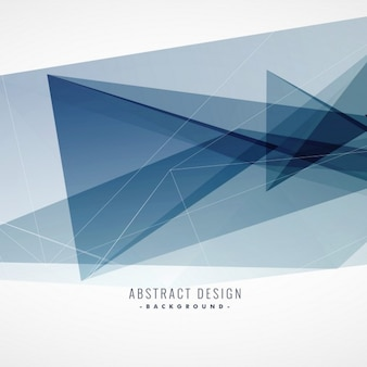 Gray background with polygonal shapes and transparencies
