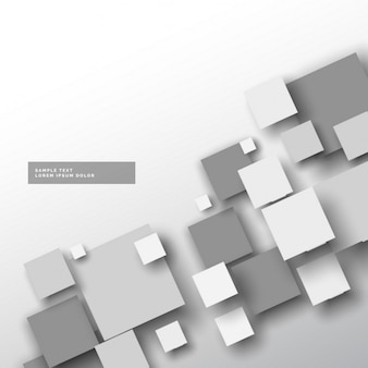Gray background with squares