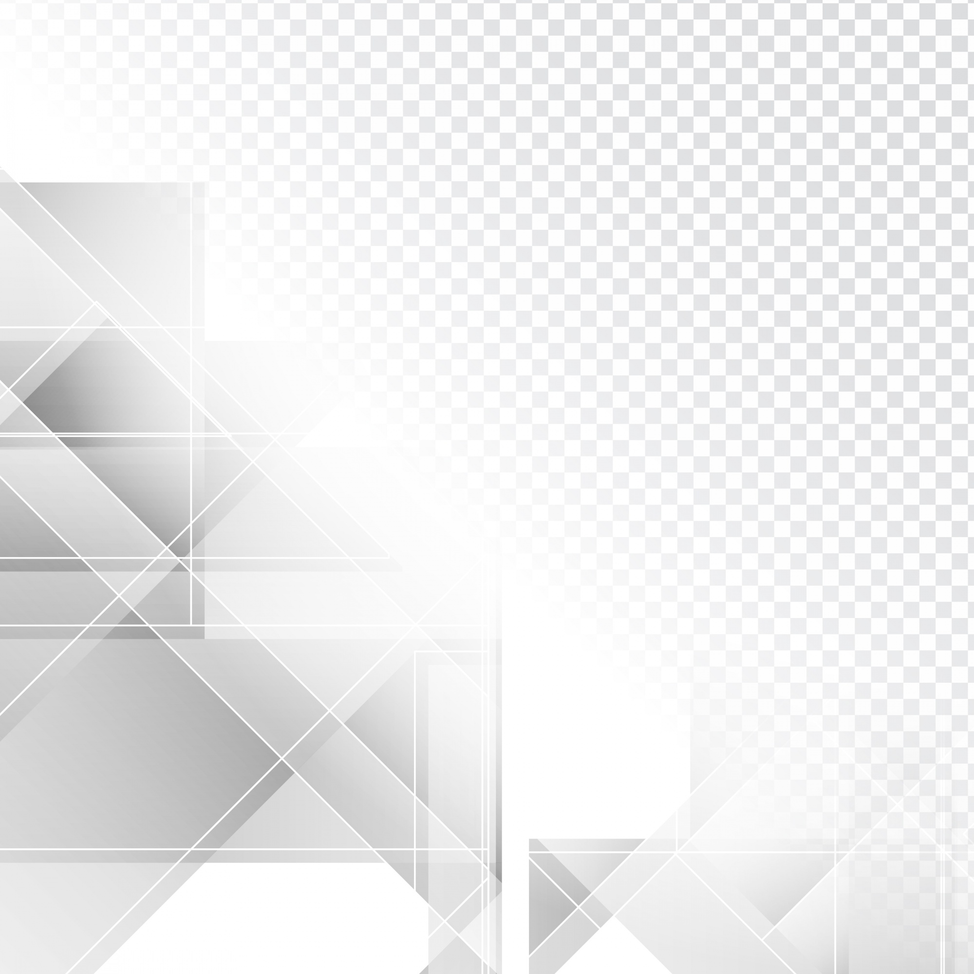 Gray polygonal shapes for backgrounds